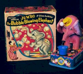 Jumbo, the Bubble Blowing Elephant photo