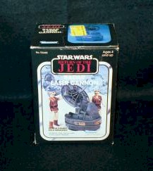 Star Wars-Return of the Jedi 'Radar Laser Cannon' photo