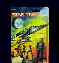 Star Trek: The Motion Picture Mr. Spock 3-3/4-inch action figure photo