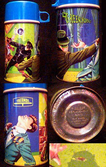 Green Hornet thermos photo