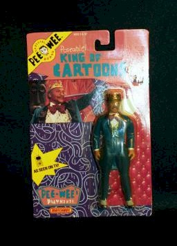 Pee Wee's Playhouse 'King of Cartoons' action figure photo