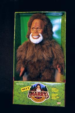 Harry and the Hendersons 18 inch doll photo