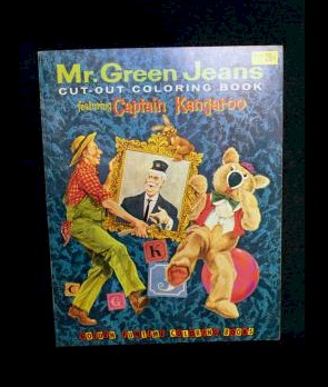 Mr. Green Jeans Cut-Out Coloring Book photo