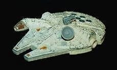 Star Wars Die-cast Millennium Falcon photo
