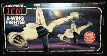 "Return of the Jedi ""B-Wing Fighter"" Vehicle photo"
