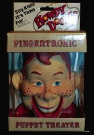 Howdy Doody Fingertronic Puppet Theater photo