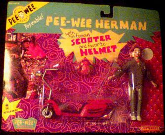 Pee-Wee Herman & Scooter photo