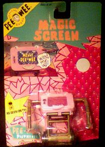 Pee Wee's Playhouse Magic Screen Wind-up photo