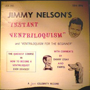 Jimmy Nelson's Instant Ventriloquist Lp photo