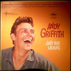 Andy Griffith Comedy Album photo