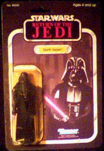 Star Wars ROTJ Darth Vader figure photo