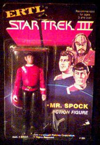 Star Trek III Spock figure photo
