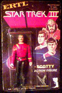 Star Trek III Scotty figure photo