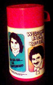 Welcome Back Kotter thermos photo