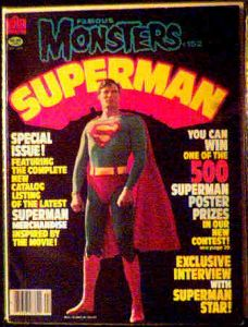 Famous Monsters #152 Superman photo