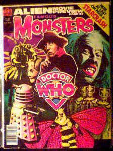 Famous Monsters #155 Doctor Who photo