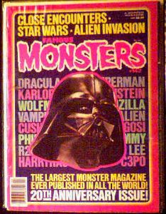 Famous Monsters #142 20th Anniversary photo