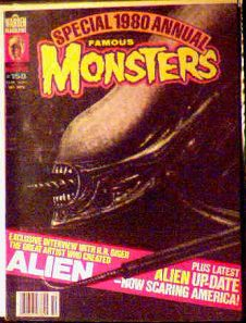 Famous Monsters #158 1980 Annual photo