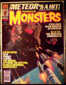 Famous Monsters #160 Meteor photo