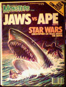 Famous Monsters #146 Jaws vs Ape photo