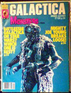 Famous Monsters #150 Battlestar Galactica photo