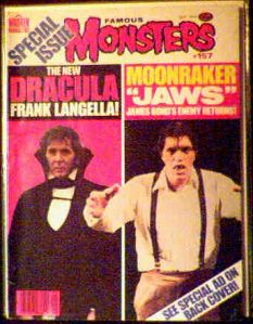 Famous Monsters #157 Dracula, Moonraker photo