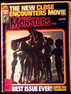 Famous Monsters #168 Close Encounters photo
