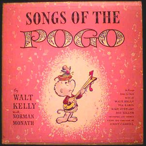 Songs of the Pogo LP photo