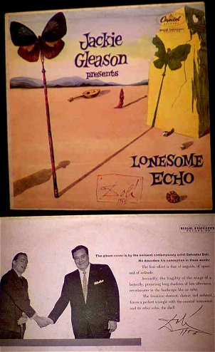 Gleason LP with Dali cover art   photo