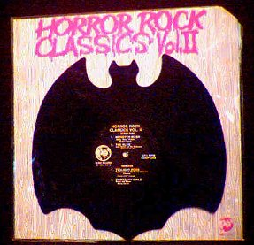 Horror Rock Classics Bat-Shaped LP photo