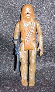 Rare Two Toned Star Wars Chewbacca figure photo
