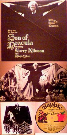 Nilsson Son of Dracula soundtrack LP photo
