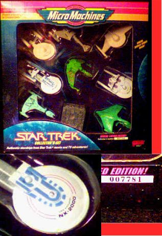Star Trek Micro Machines Set  photo