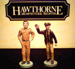 Andy and Barney Mayberry die cast figures photo